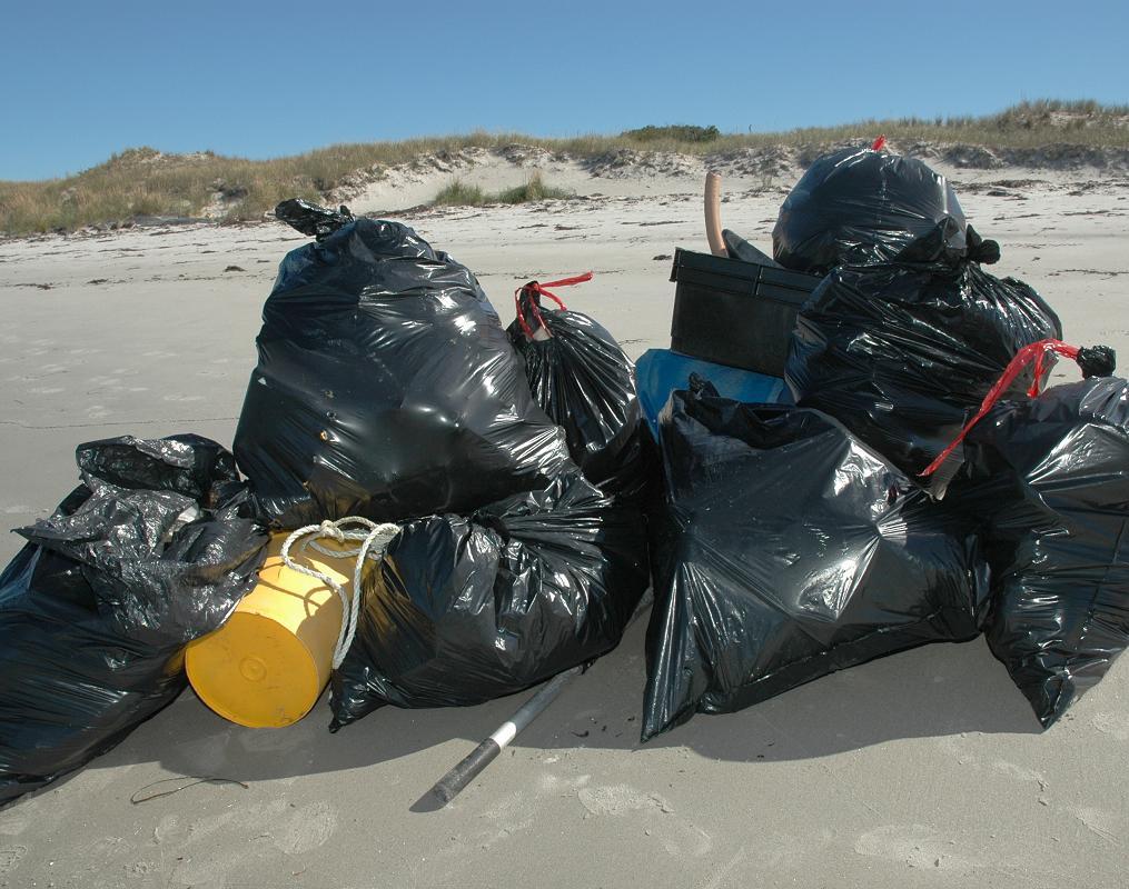 Cleanup trash
