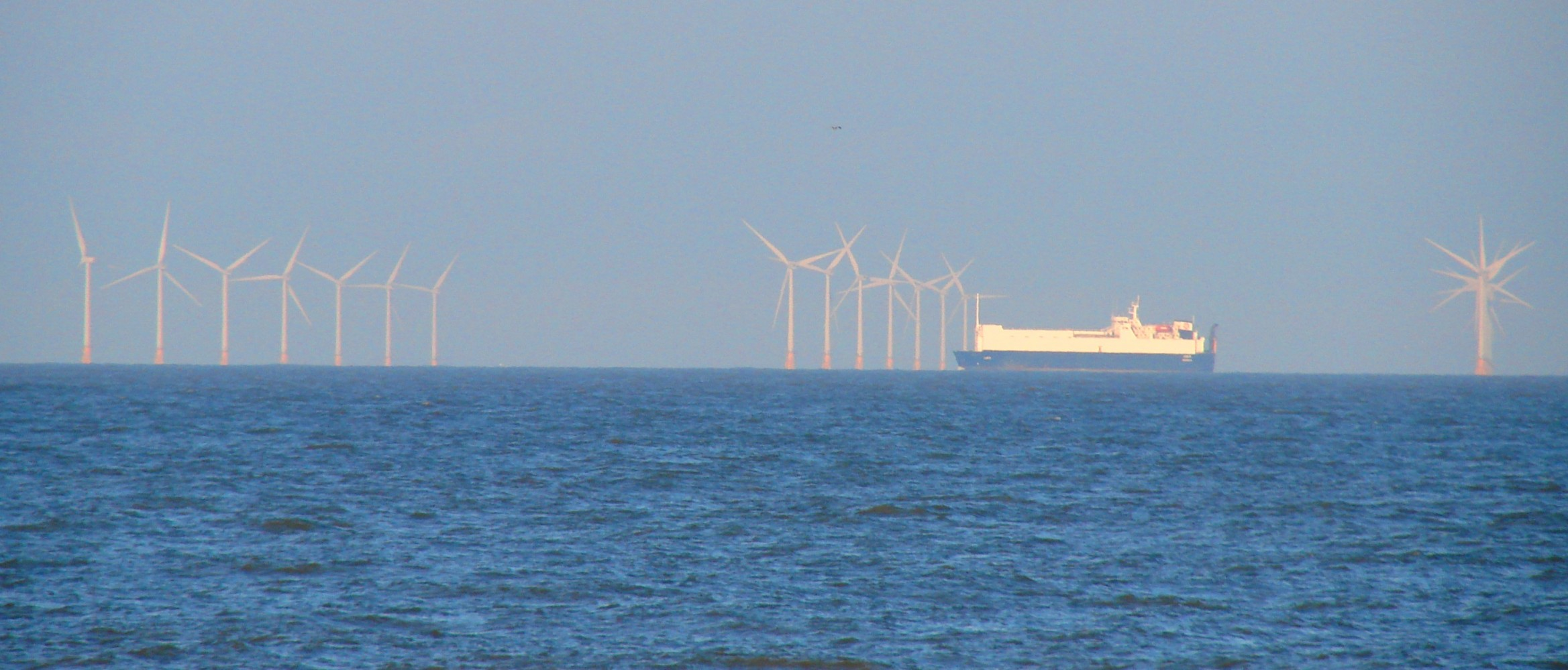 Offshore wind energy on the horizon John Williamson photo