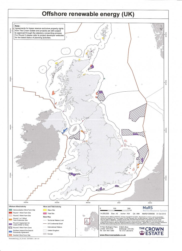 Offshore Renewable Energy in the UK