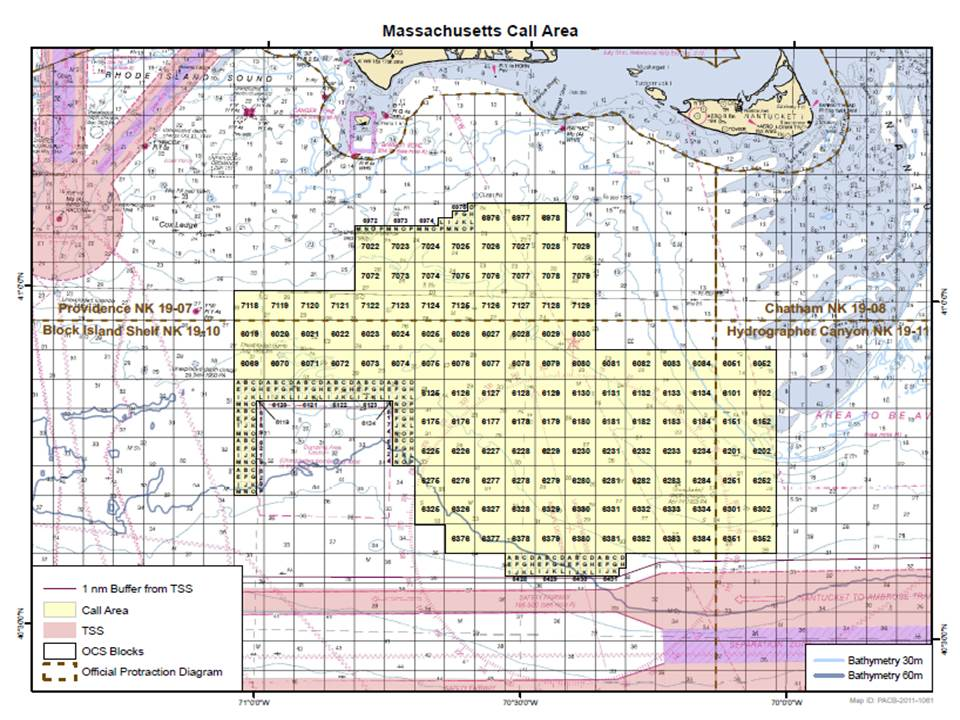 130617 Massachusetts WEA nautical chart