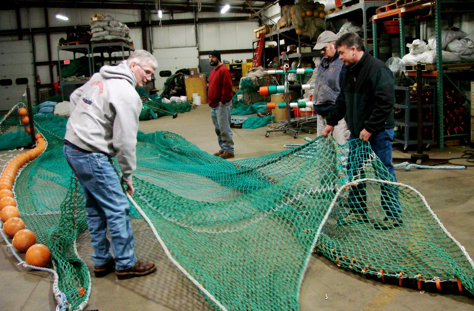 NOAA Survey Trawl Net