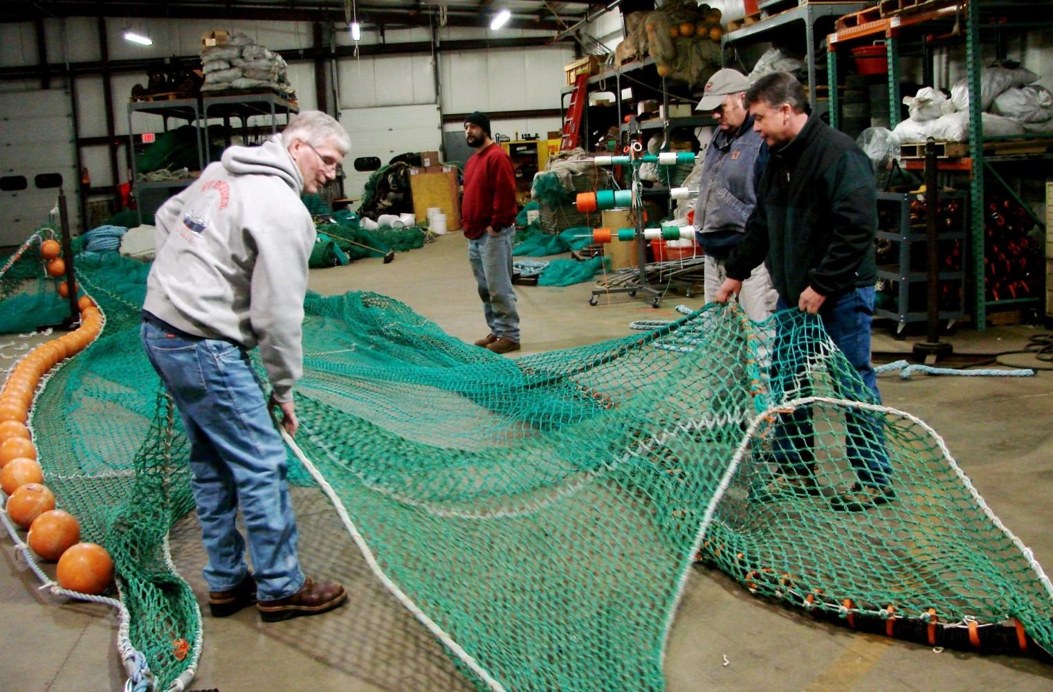 NOAA Survey Trawl Net